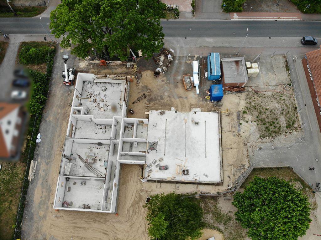 Die Abbildung zeigt das neue Feuerwehrgerätehaus Otternhagen am 16.05.2020.