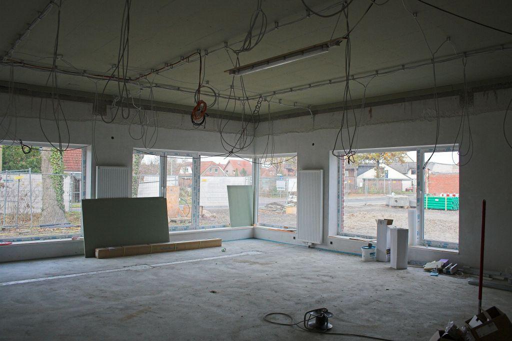 Das Bild zeigt den Schulungsraum im Dienstgebäude des Feuerwehrgerätehauses in Otternhagen.