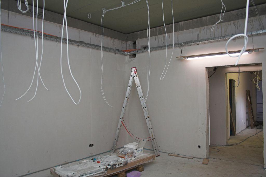 Das Foto zeigt den Umkleideraum für die Feuerwehrfrauen der Ortsfeuerwehr Otternhagen.