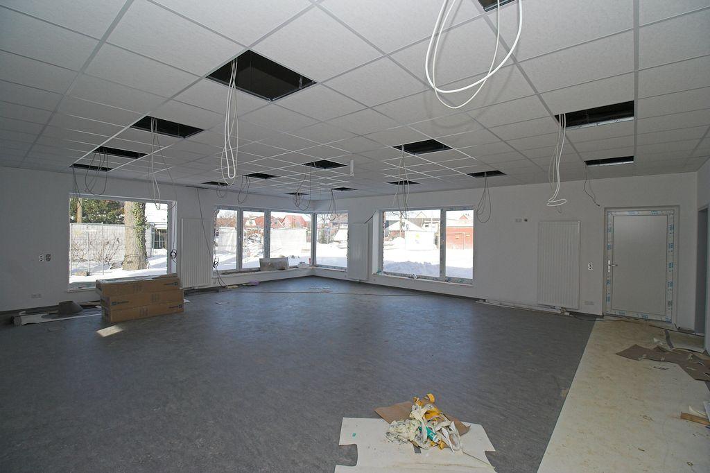 Das Foto zeigt den Schulungsraum im Feuerwehrgerätehaus Otternhagen.