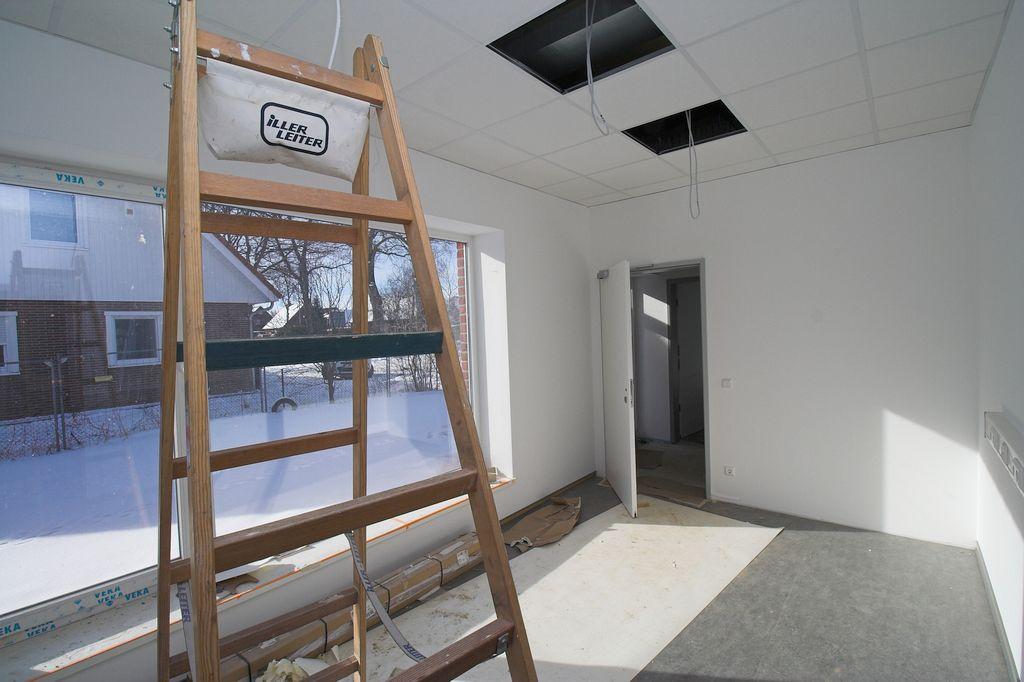 Das Foto zeigt den Büroraum im Feuerwehrgerätehaus Otternhagen.