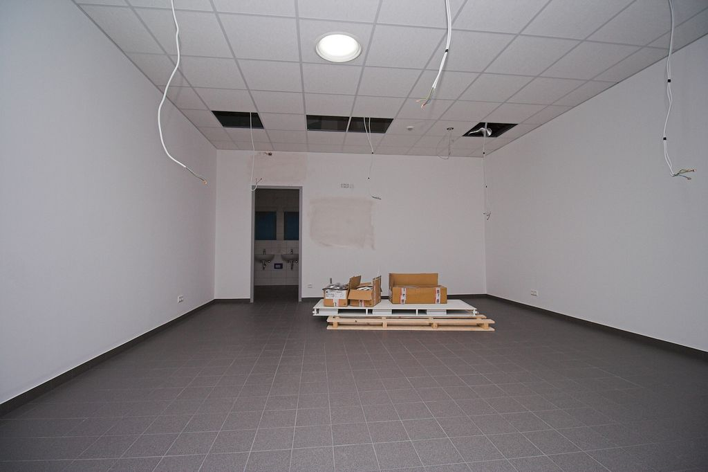 Der aktuelle Zustand des Umkleideraumes für die Feuerwehrfrauen der Ortsfeuerwehr Otternhagen.