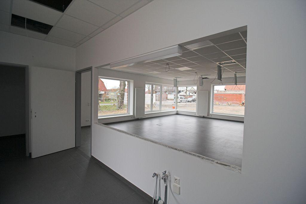Der Küchenbereich am Schulungsraum.