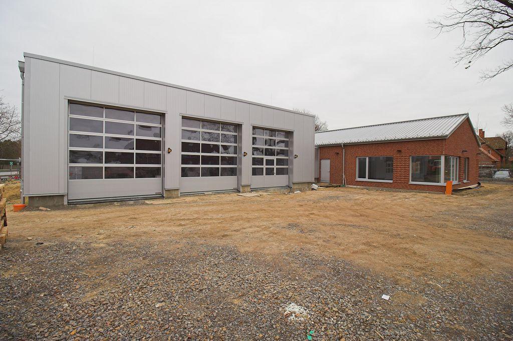 Das Feuerwehrgerätehaus Otternhagen in der Außenansicht.