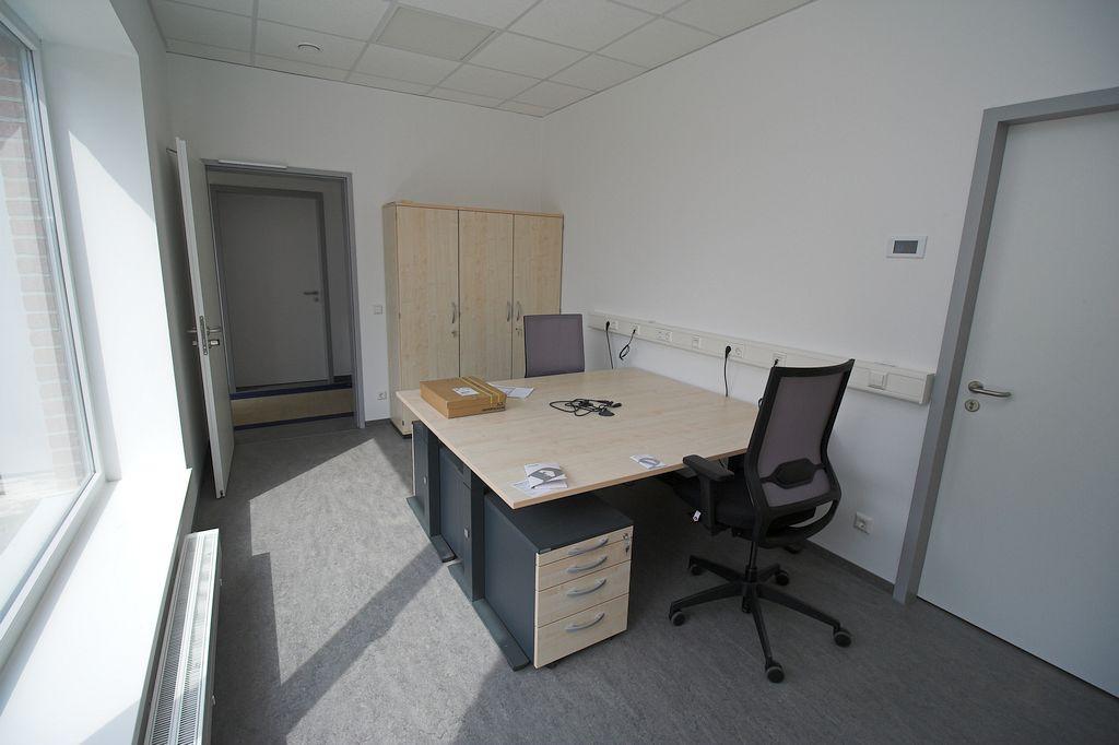 Büroraum im Dienstgebäude des Feuerwehrgerätehauses Otternhagen.