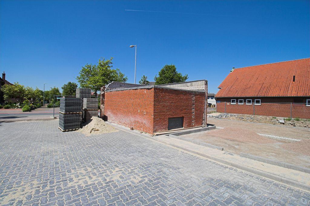 Das Transformatorenhaus war im ehemaligen Feuerwehrgerätehaus integriert.